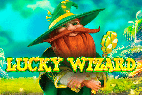 logo lucky wizard red tiger