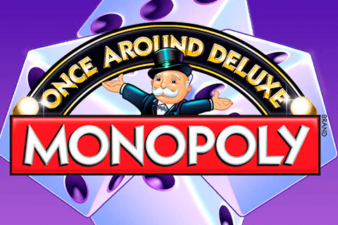 logo monopoly once around deluxe wms