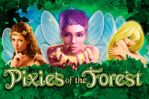 logo pixies of the forest igt