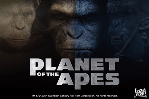 logo planet of the apes netent