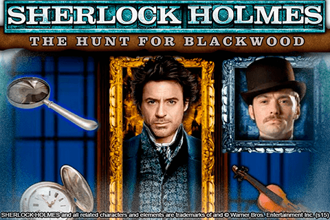 logo sherlock holmes the hunt for blackwood igt