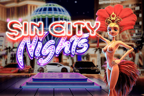 logo sin city nights betsoft