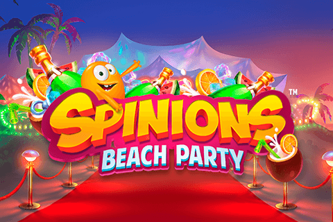 logo spinions beach party quickspin