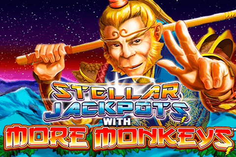 logo stellar jackpots with more monkeys lightning box