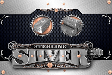 logo sterling silver 3d microgaming