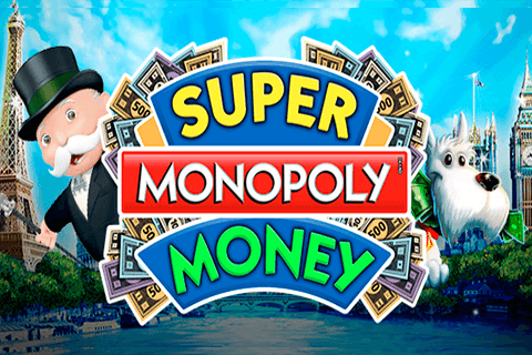 logo super monopoly money wms