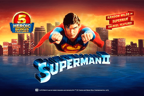 logo superman ii playtech