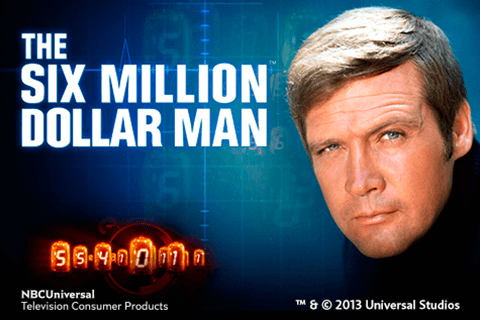 logo the six million dollar man playtech