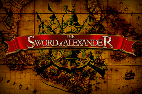 logo the sword of alexander isoftbet