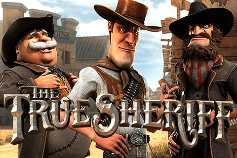 logo the true sheriff betsoft