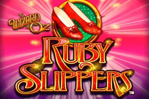 logo the wizard of oz ruby slippers wms
