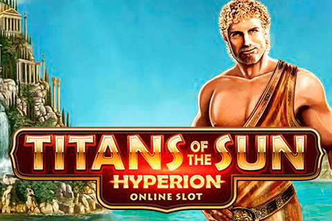 logo titans of the sun hyperion microgaming