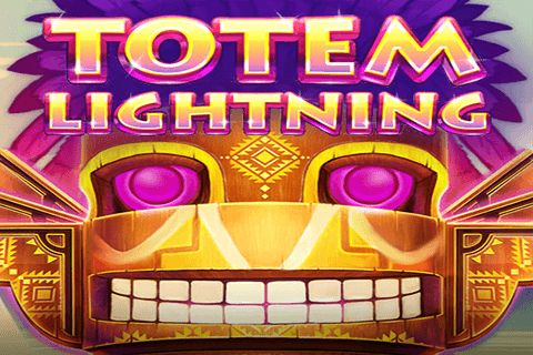 logo totem lightning red tiger