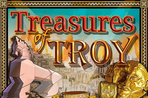 logo treasures of troy igt