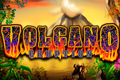 logo volcano eruption nextgen gaming