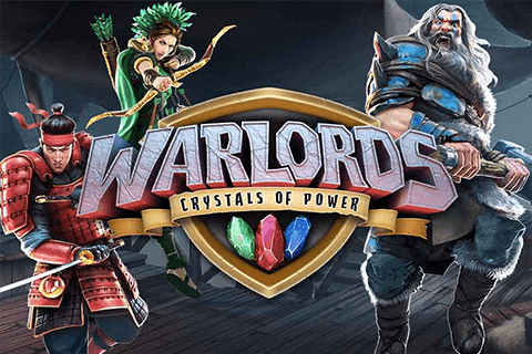 logo warlords crystals of power netent