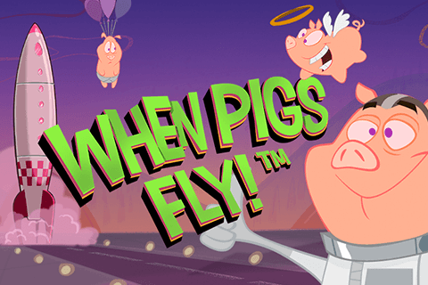 logo when pigs fly netent