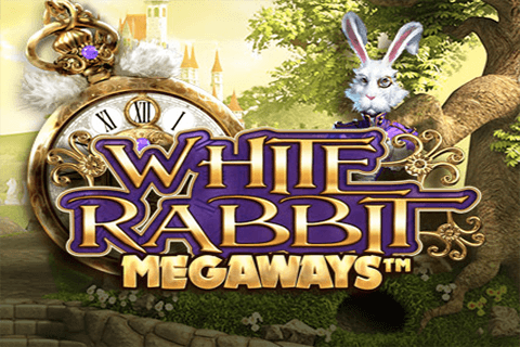 logo white rabbit big time