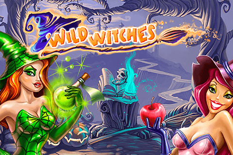 logo wild witches netent
