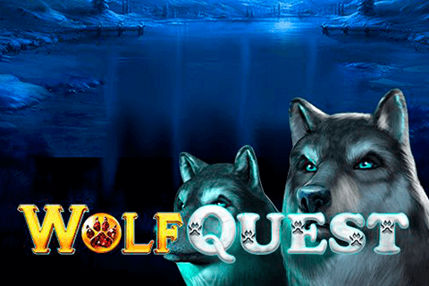 logo wolf quest gameart