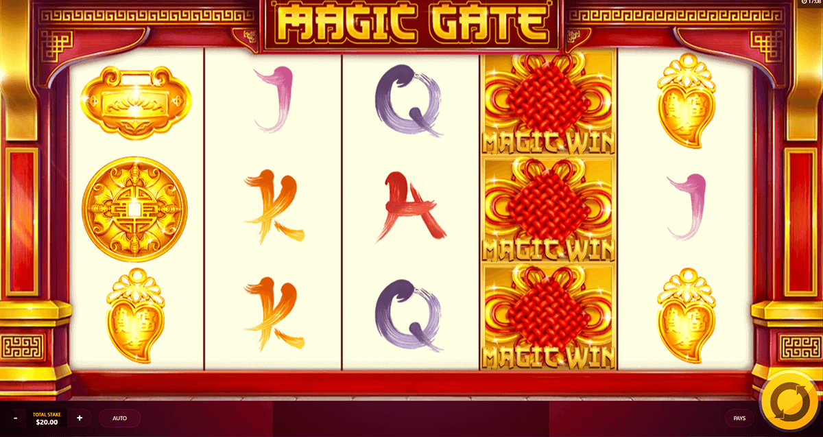 magic gate red tiger
