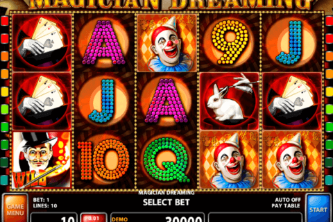 magician dreaming casino technology