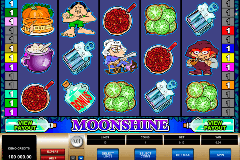 moonshine microgaming