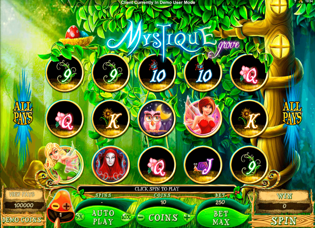 mystique grove microgaming