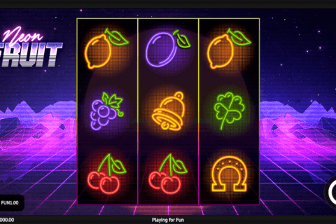 neon fruit 1x2gaming