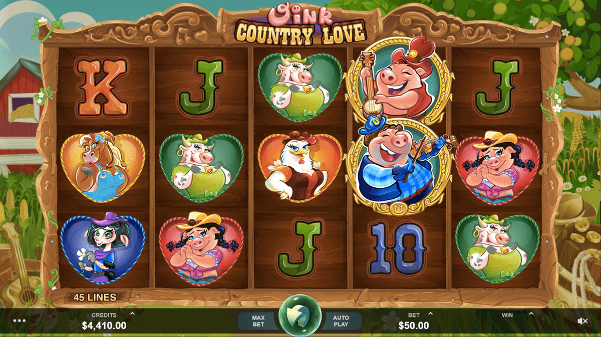 oink country love microgaming