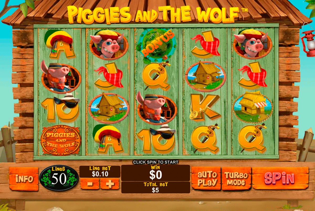 piggies and the wolf playtech