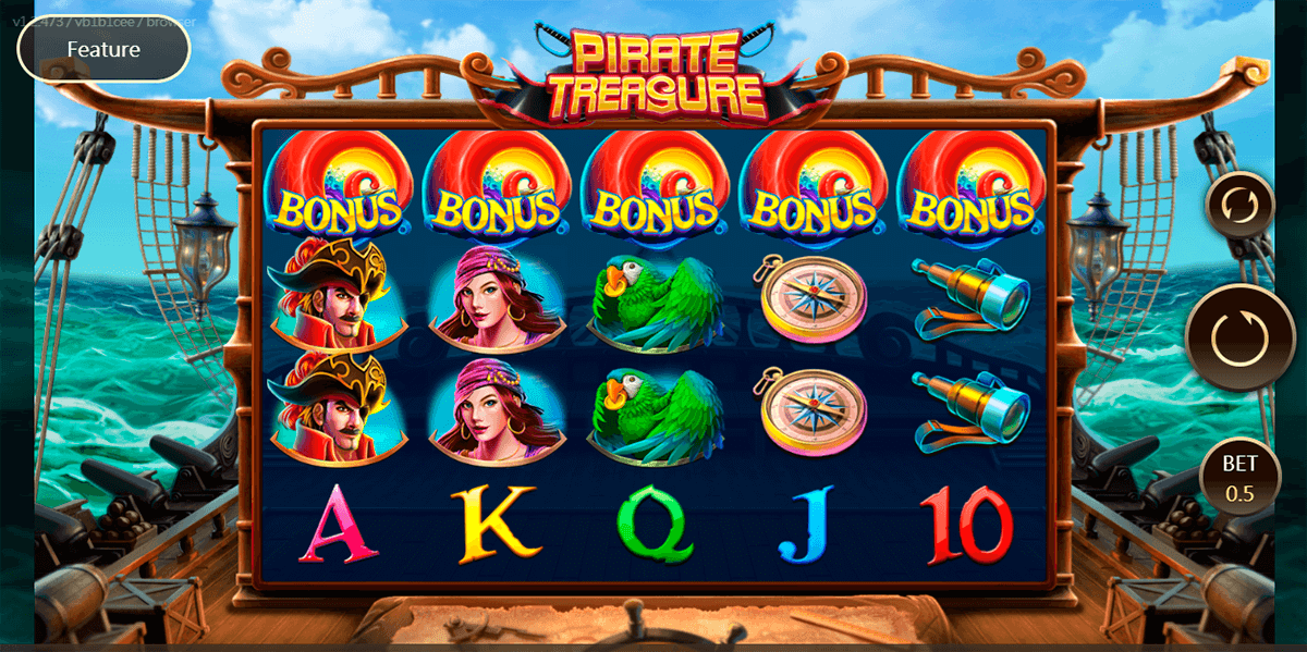 pirate treasure jdb168