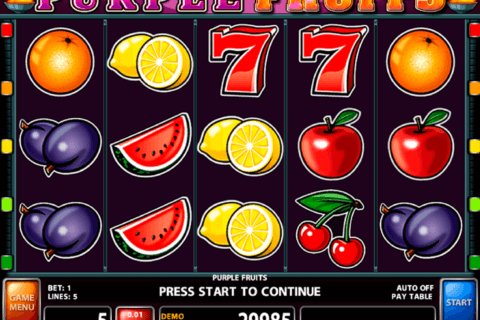 purple fruits casino technology