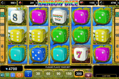 rainbow dice egt