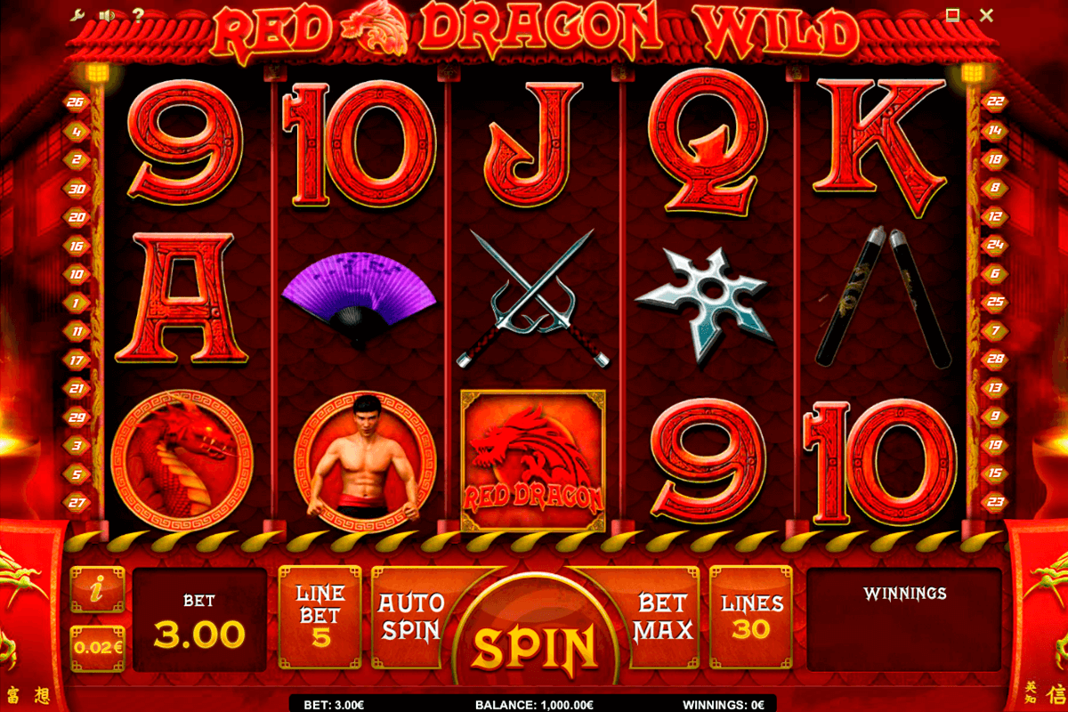 red dragon wild isoftbet