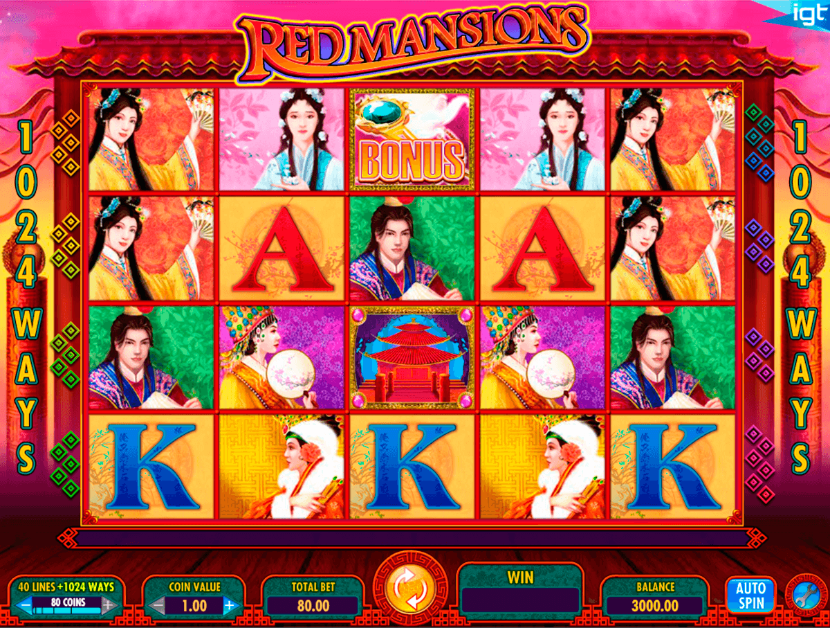 red mansions igt