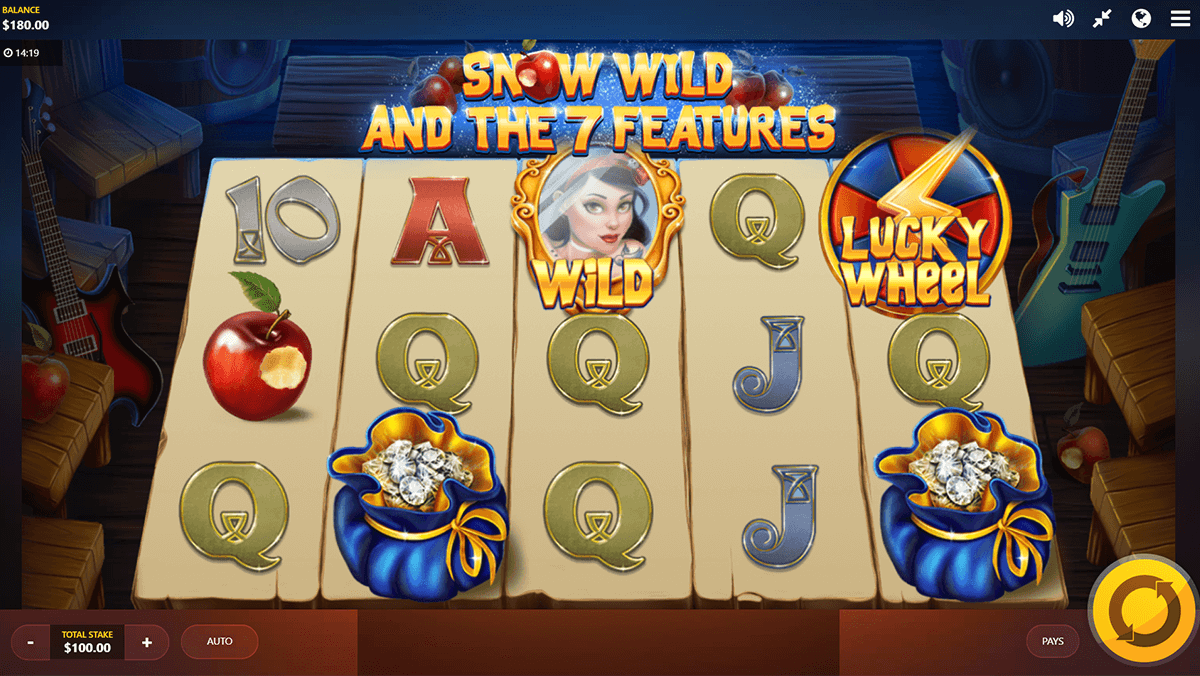snow wild and the 7 features red tiger