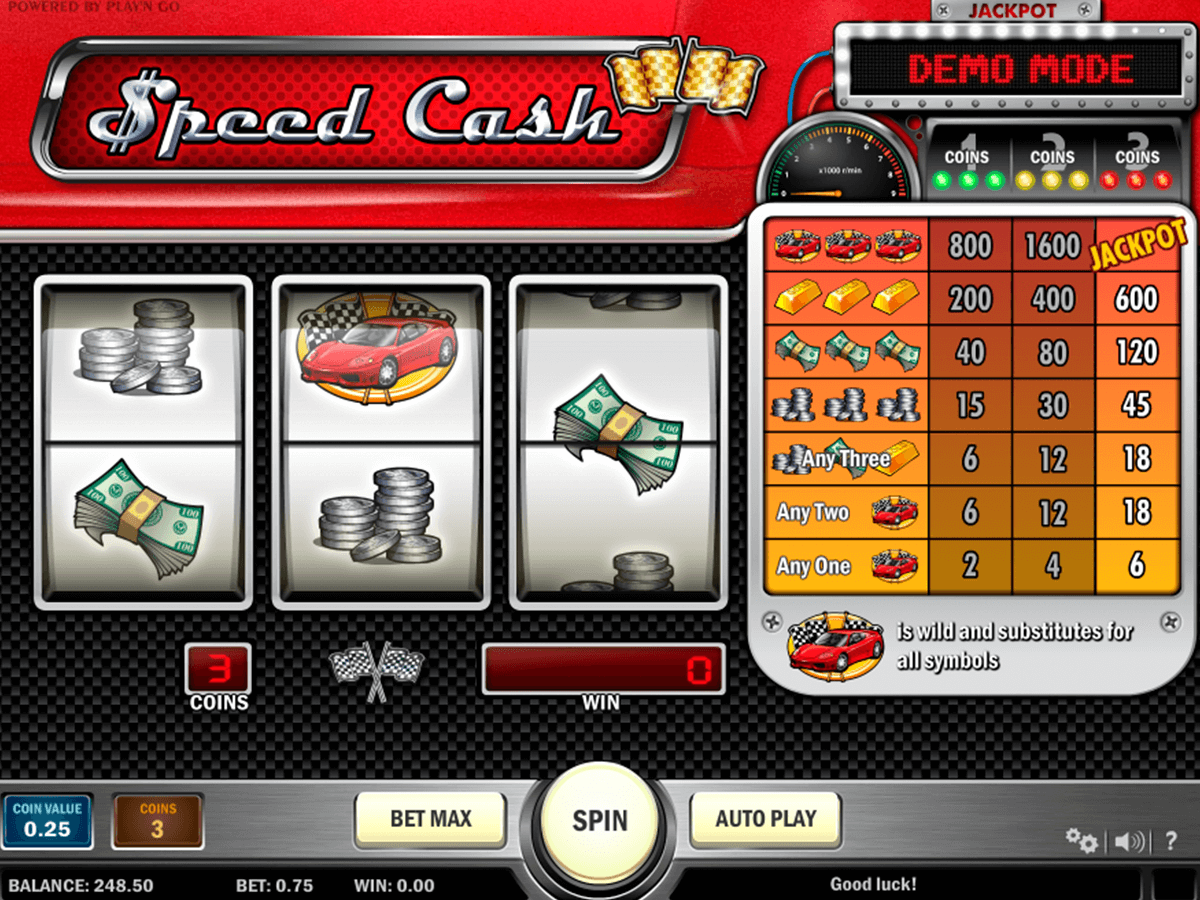 speed cash playn go