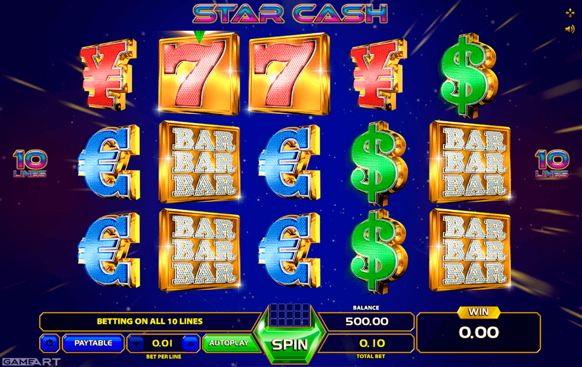 star cash gameart