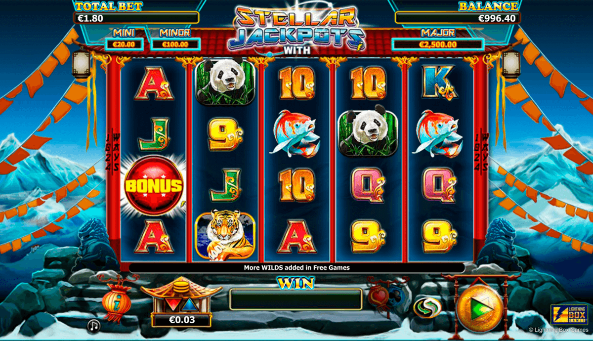 stellar jackpots with more monkeys lightning box