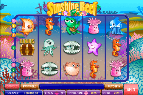 sunshine reef microgaming