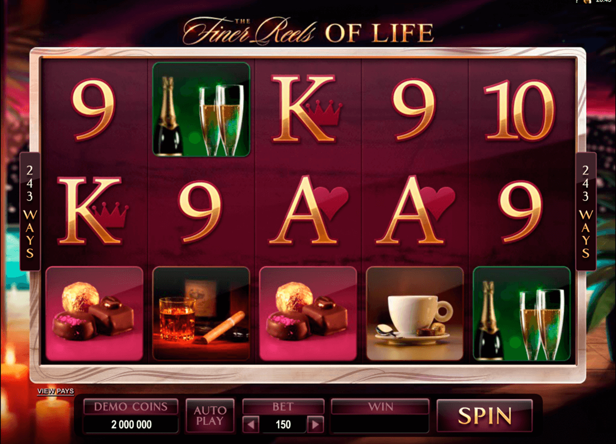 the finer reels of life microgaming