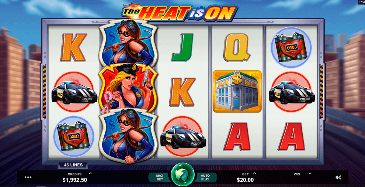 the heat is on microgaming