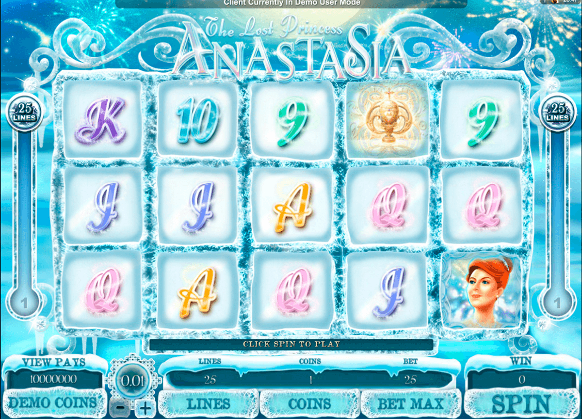 the lost princess anastasia microgaming