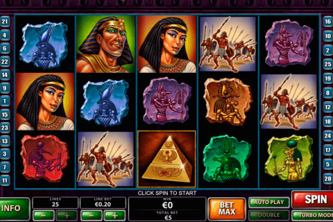 the pyramid of the ramesses playtech
