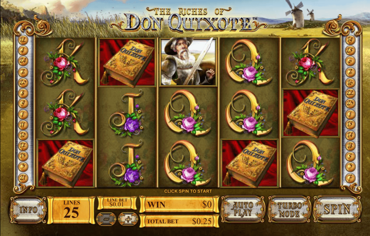 the riches of don quixote playtech