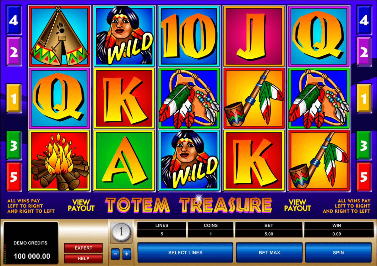 totem treasure microgaming