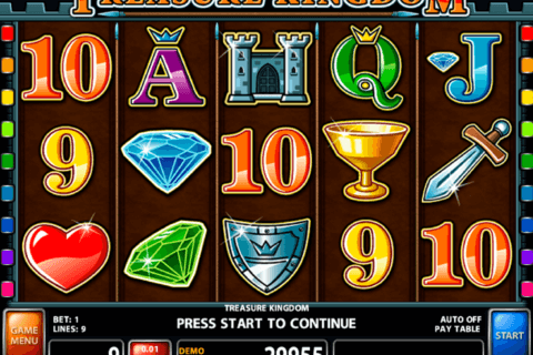 treasure kingdom casino technology