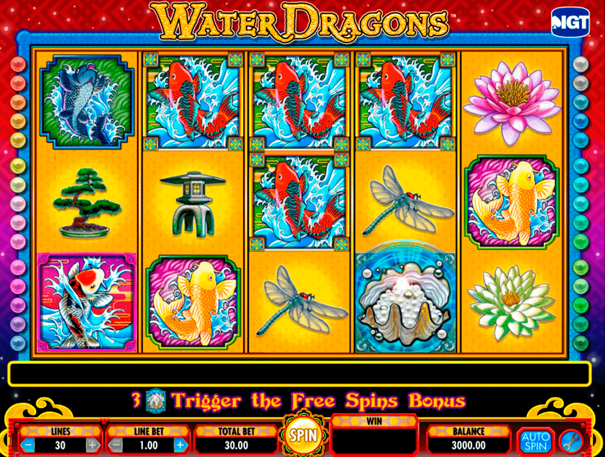 water dragons igt