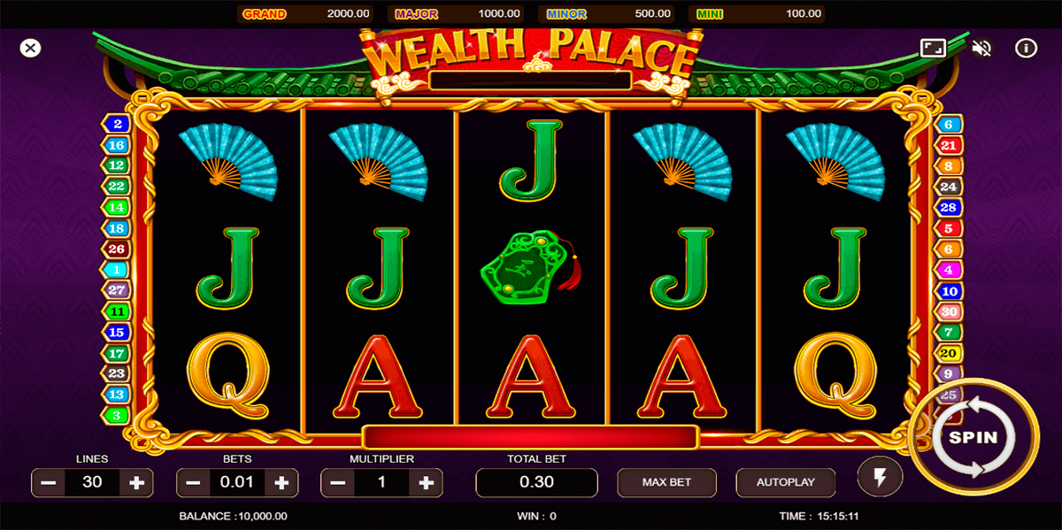 wealth palace vela gaming